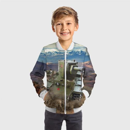 Детский бомбер 3D Танк КВ-2 Фото 01