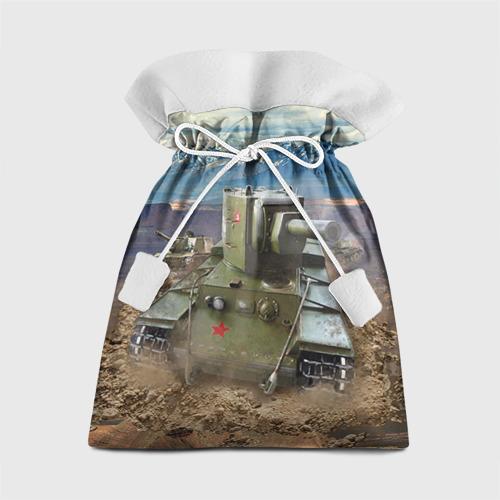 Подарочный 3D мешок Танк КВ-2