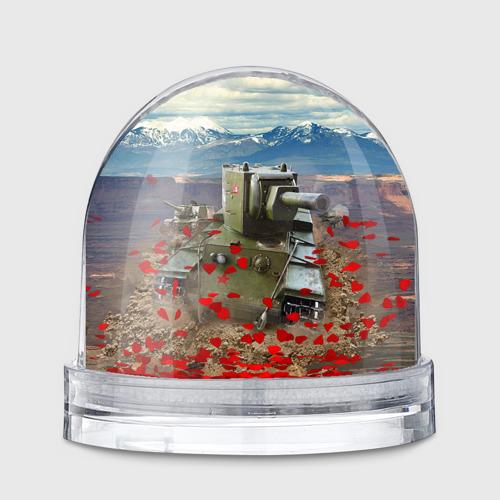 Водяной шар  Фото 01, Танк КВ-2