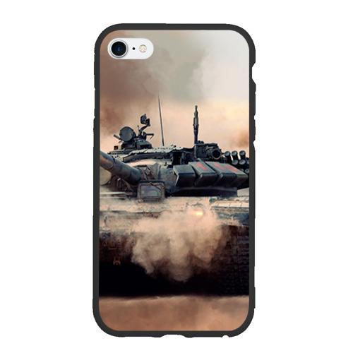 Чехол для iPhone 6/6S матовый Танк Фото 01