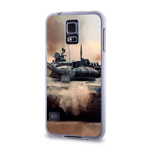 Чехол для Samsung Galaxy S5 силиконовый  Фото 03, Танк