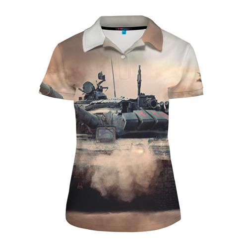 Женская рубашка поло 3D Танк