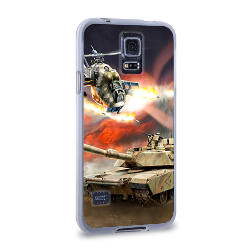Чехол для Samsung Galaxy S5 силиконовый  Фото 02, Танк