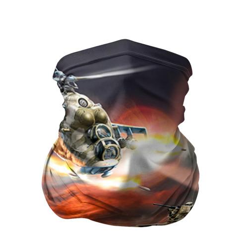 Бандана-труба 3D Танк