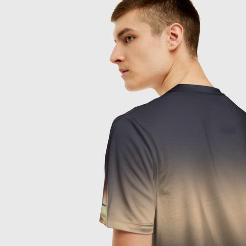 Мужская футболка 3D Танк Фото 01