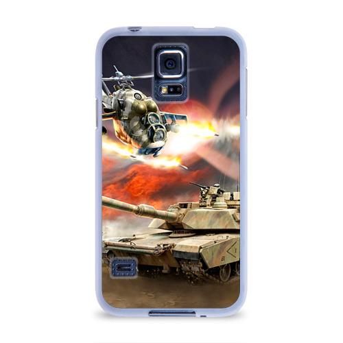 Чехол для Samsung Galaxy S5 силиконовый  Фото 01, Танк