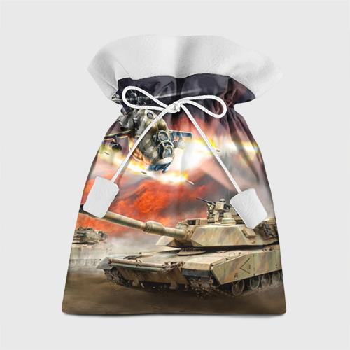 Подарочный 3D мешок Танк