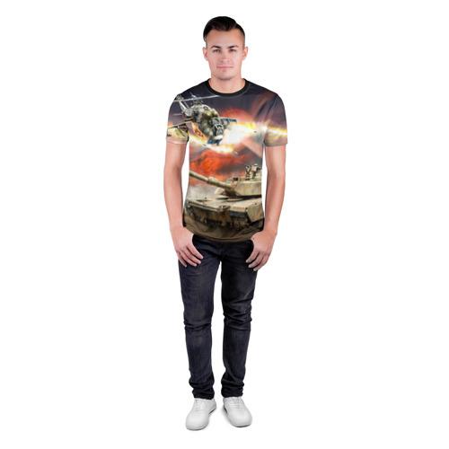 Мужская футболка 3D спортивная  Фото 04, Танк