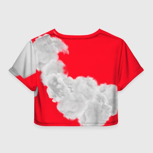 Женская футболка 3D укороченная  Фото 02, Давай я лучше покажу тебе свой ГТР