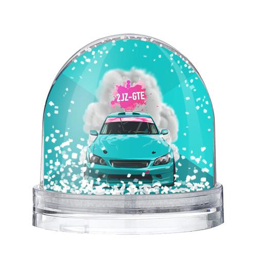Водяной шар со снегом 2 JZ GTE
