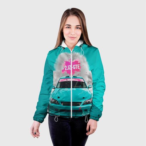 Женская куртка 3D  Фото 03, 2 JZ GTE