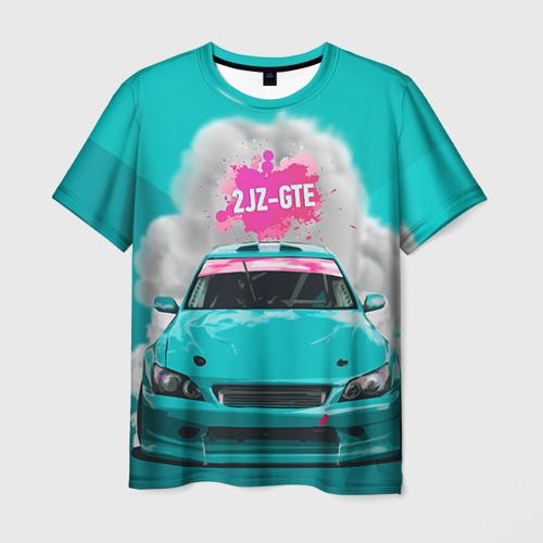 Мужская футболка 3D 2 JZ GTE Фото 01
