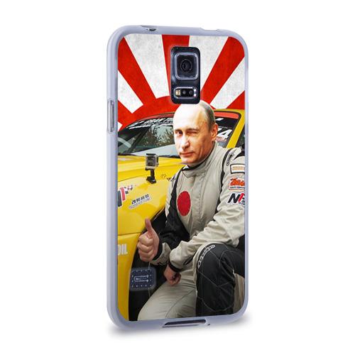 Чехол для Samsung Galaxy S5 силиконовый  Фото 02, Путин с нами ;)