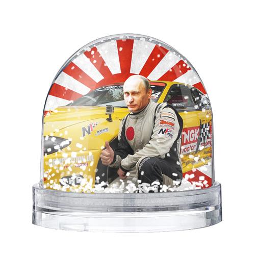 Водяной шар со снегом Путин с нами ;)