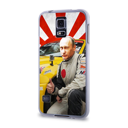 Чехол для Samsung Galaxy S5 силиконовый  Фото 03, Путин с нами ;)