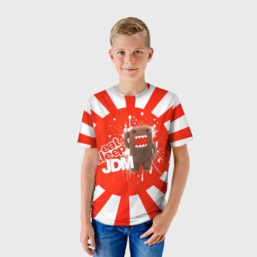 Детская футболка 3D Domo jdm