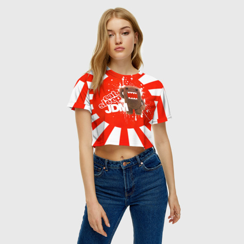 Женская футболка Cropp-top  Фото 04, Domo jdm