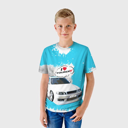 Детская футболка 3D Tourer V