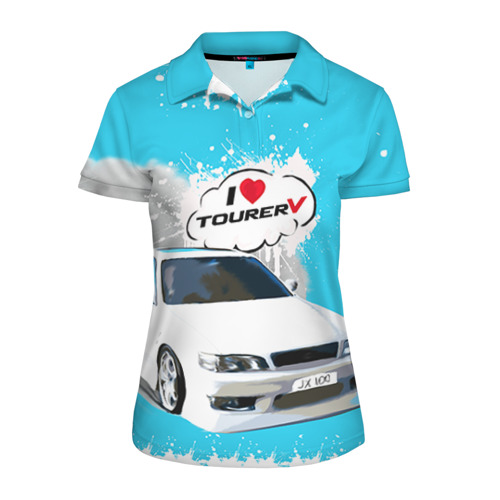 Женская рубашка поло 3D Tourer V