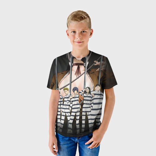 Детская футболка 3D Prison School