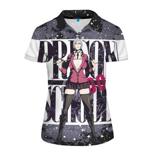 Женская рубашка поло 3D Prison School