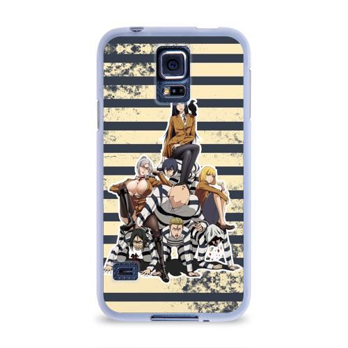 Чехол для Samsung Galaxy S5 силиконовый  Фото 01, Prison School