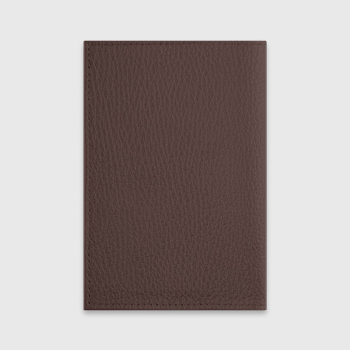 Обложка для паспорта матовая кожа Бегущий в лабиринте Фото 01