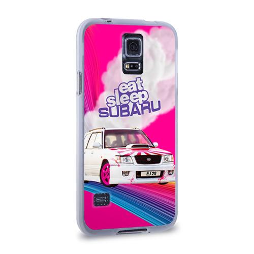 Чехол для Samsung Galaxy S5 силиконовый  Фото 02, Subaru