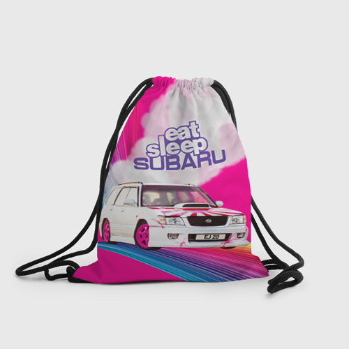 Рюкзак-мешок 3D Subaru Фото 01