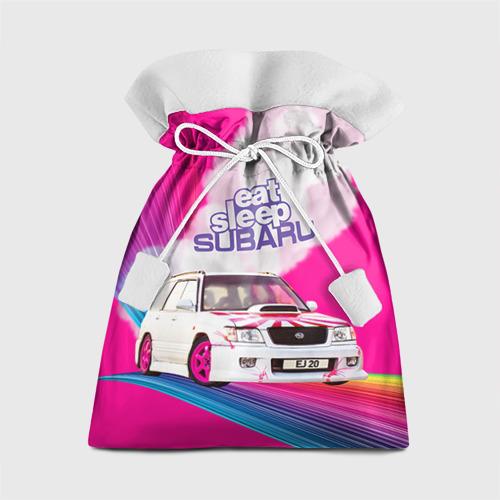 Подарочный 3D мешок Subaru