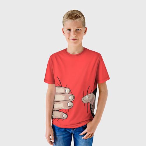 Детская футболка 3D Рука