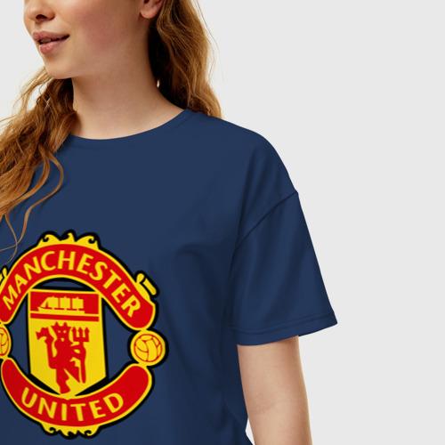 Женская футболка хлопок Oversize Falcao Фото 01