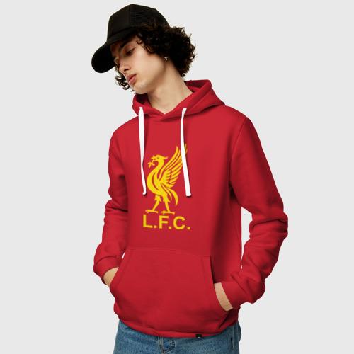 Мужская толстовка хлопок  Фото 03, Liverpool Gerrard