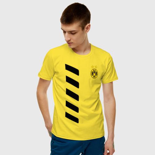 Мужская футболка хлопок Borussia Reus Фото 01