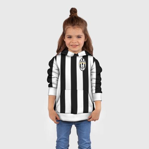 Детская толстовка 3D Juventus Vidal