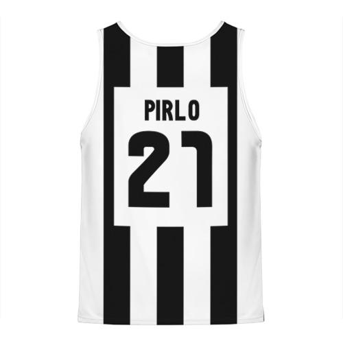 Мужская майка 3D  Фото 02, Juventus Pirlo
