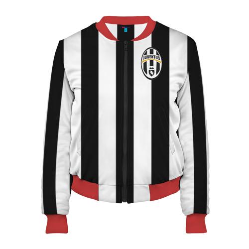 Женский бомбер 3D Juventus Pirlo