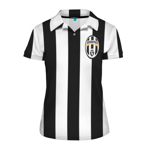 Женская рубашка поло 3D Juventus Pirlo