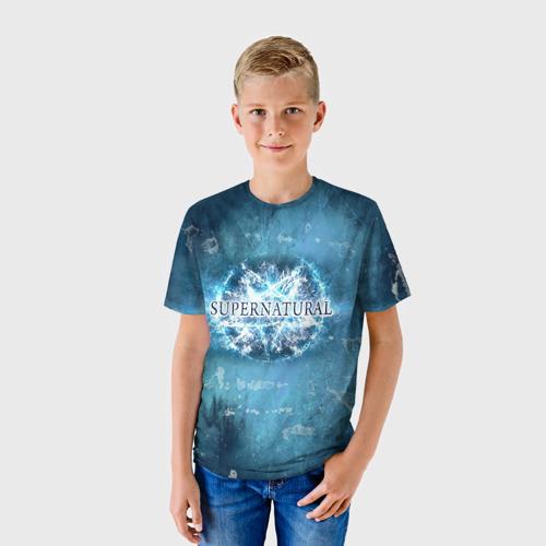 Детская футболка 3D Сверхъестественное