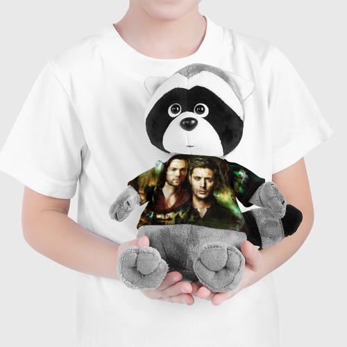 Енотик в футболке 3D  Фото 04, Сверхъестественное