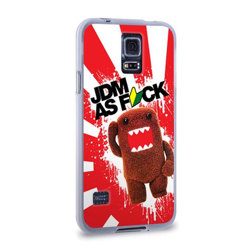 Чехол для Samsung Galaxy S5 силиконовый  Фото 02, domo as f*ck