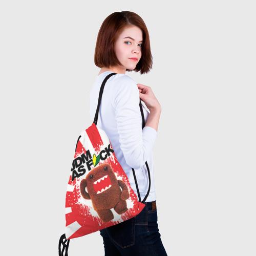 Рюкзак-мешок 3D  Фото 02, domo as f*ck