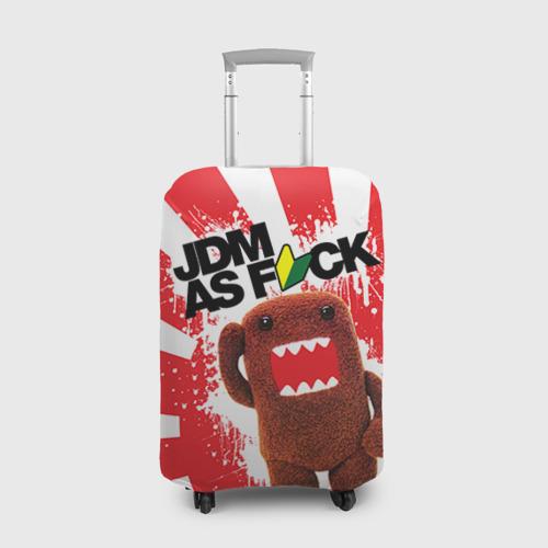 Чехол для чемодана 3D domo as f*ck Фото 01