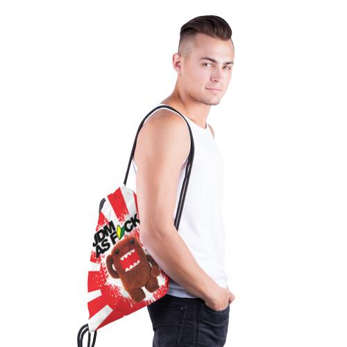 Рюкзак-мешок 3D  Фото 03, domo as f*ck