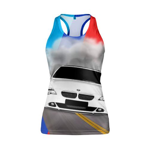 Женская майка 3D спортивная BMW