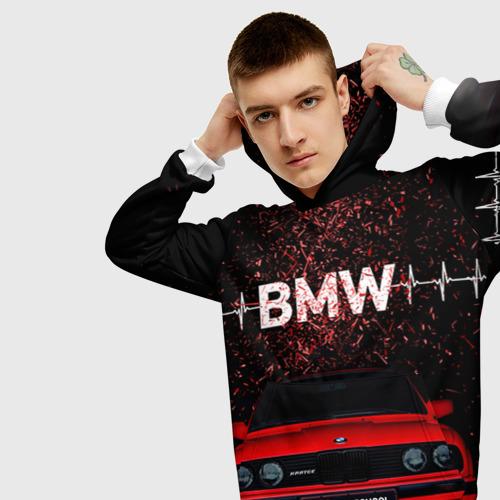 Мужская толстовка 3D BMW