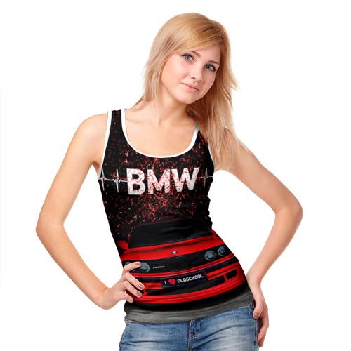 Женская майка 3D  Фото 05, BMW
