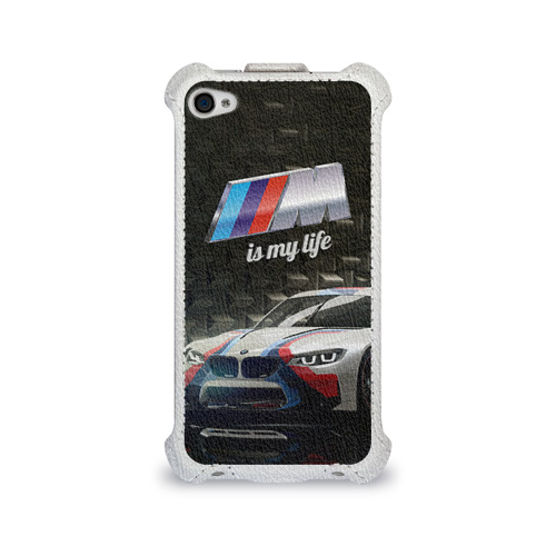 Чехол для Apple iPhone 4/4S flip BMW