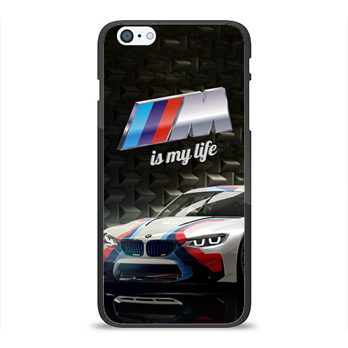 Чехол для Apple iPhone 6Plus/6SPlus силиконовый глянцевый BMW Фото 01
