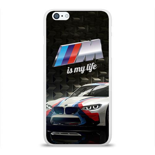 Чехол для Apple iPhone 6Plus/6SPlus силиконовый глянцевый BMW